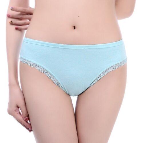 Women Lace Briefs Cotton Underwear Set Large Size Comfortable Panties Undepants