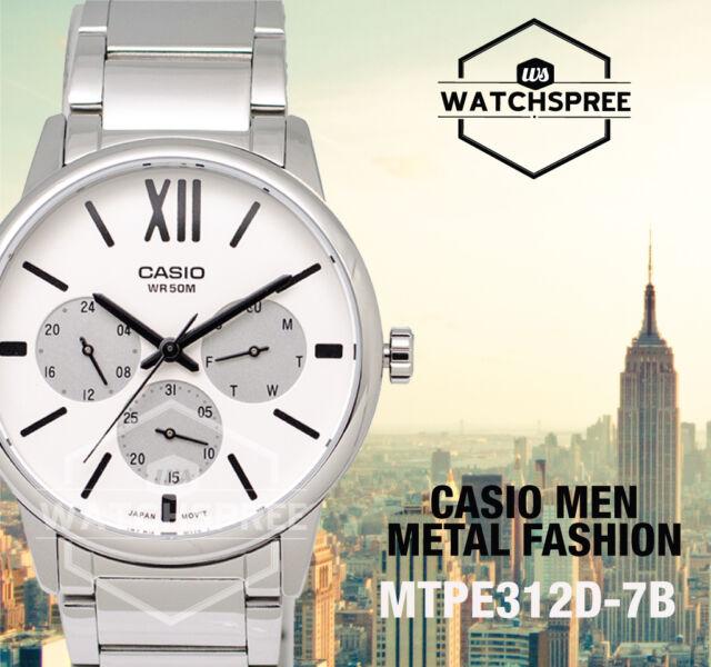 Casio Men's Standard Analog Watch MTPE312D-7B MTP-E312D-7B