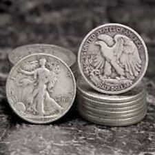 Silver Walking Liberty Half Dollar 90% 1/2 Pre 1964 US Coin Survival Prepper