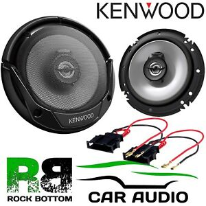 "ALPINE VW Polo 3 Door 1990-94 4x6/"" 10x15cm 2 way 300W Car Coaxial Rear Speakers"