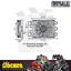 thumbnail 3 - Derale Dyno-Cool 6 Pass Remote Mount Cooler w/ Fan -6AN Ports - DP12731