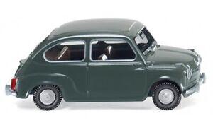 Wiking NSU Fiat Jagst Fiat 600-1:87 #009998 grau
