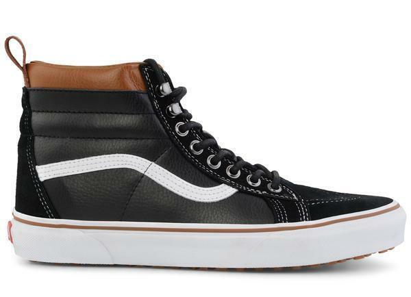 Vans Sk8-Hi MTE Black White Brown Gum Men Lifestyle Classic Sneakers VN000XH4DX6