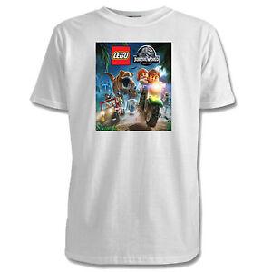 T Kids Jurassic Lego 7 Shirts Sizes World 5 1 Colours Designs TKFclJ1