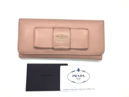 PRADA purse pink Used (3439A