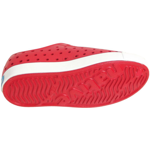 Native Shoes Jefferson Child Kinder Slipper rot torch red//shell white