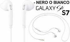 Auricolare + microfono per Samsung Galaxy S5,S6,S7.Cuffie auricolari bianco,nero