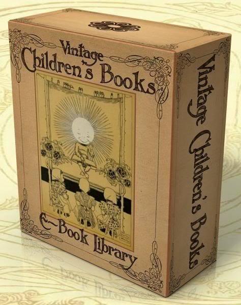 Vintage Illustrierte Kinderbücher 622 Bücher 3 DVD-ROM Geschichten, Märchen