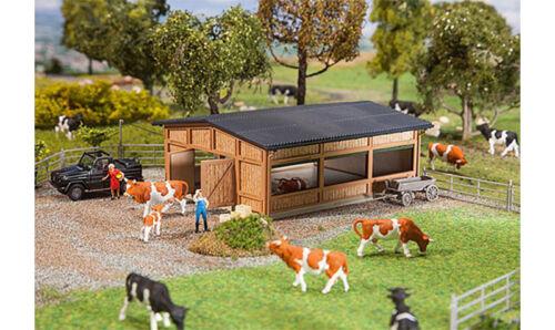 FALLER Livestock Shelter Model Kit V HO Gauge 130547