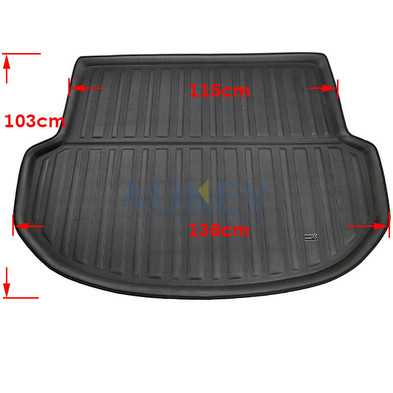 Xukey Boot Liner Cargo Carpet Rear Trunk Mat Tray Fit For Ford Fusion 13-18