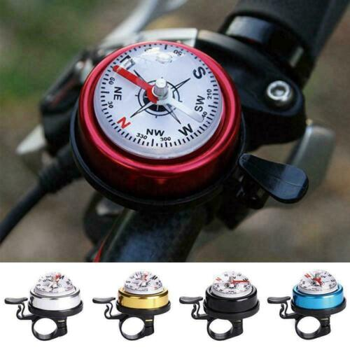 1pc Bike Bell Alloy Mountain Road Compass Bicycle Bell Bike Road New Alarm D3S0