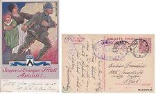 "# FANTERIA DI LINEA: BRIGATA FRIULI - SEMPRE ED OVUNQUE ""FRIULI AVANTI!""  1919"