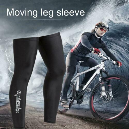 Details about  /1Pair Bicycle Cycling Running UV Protection Leg Warmers Elastic Leg Sleeves