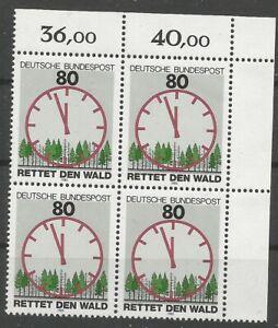 Federal-Frg-Minr-1253-Mint-Block-of-Four-Corner-2-Unfolded