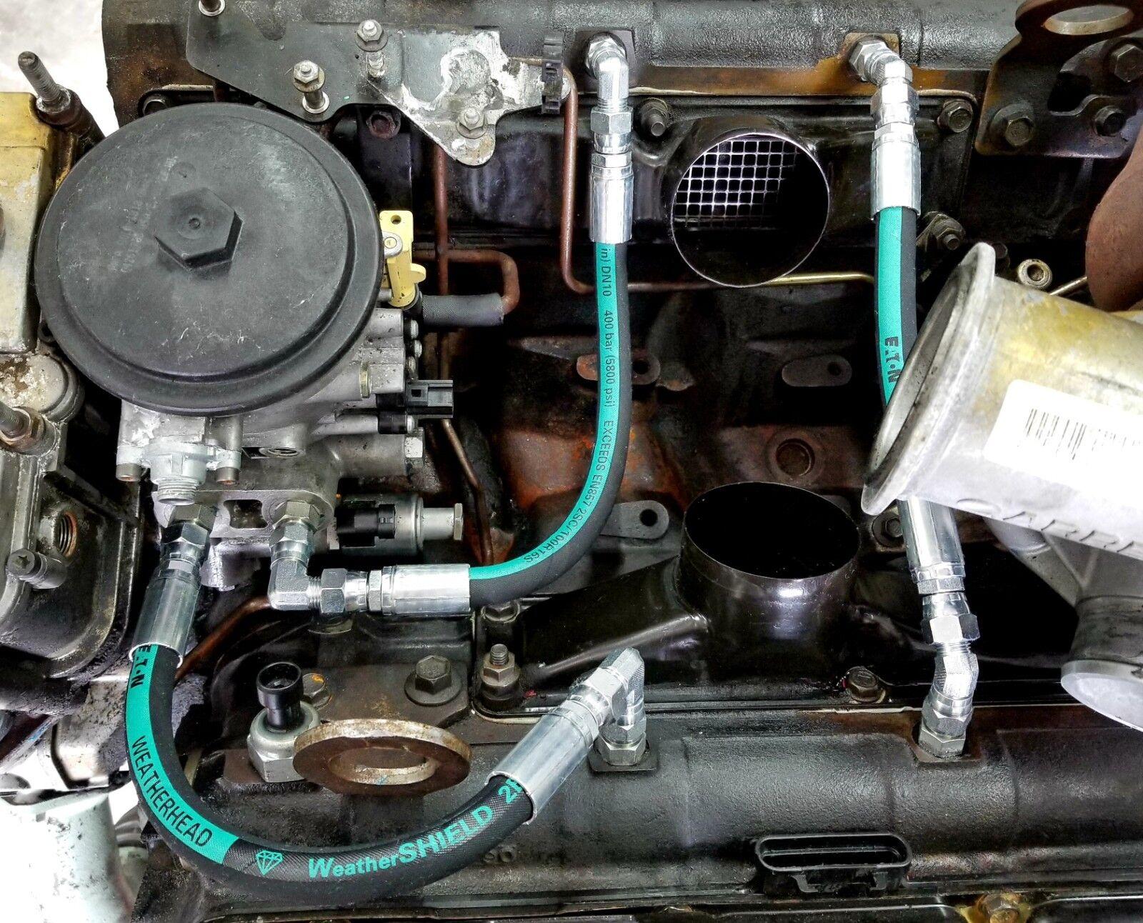 99 03 Ford 7 3l Powerstroke High Pressure Oil Pump Hpop Hoses Lines Set