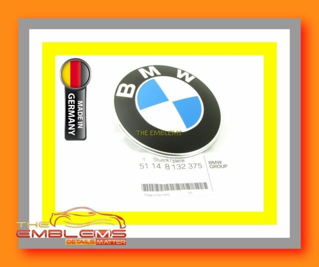 NEW 76-05  BMW 320i E21 E30 E36 E46 E90 91 92 FRONT HOOD BONNET EMBLEM BADGE OEM