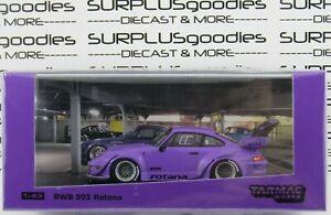 Tarmac-Works-1-43-Scale-2020-Purple-PORSCHE-993-RWB-Rauh-Welt-Begriff-ROTANA