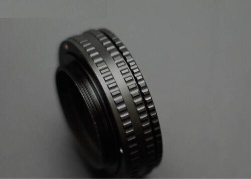 17mm-31mm M65 a M65 lente ajustable enfoque helicoidal Adaptador 17 ~ 31mm de cobre
