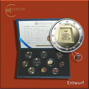Kursmuenzensatz-KMS-Malta-2015-BU-1-Ct-bis-2-Euro-5-88-Coin-Coins-Republik