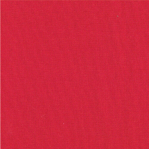 Moda Tissu-Bella Solids-Scarlet Red 47-100/% coton-plusieurs tailles