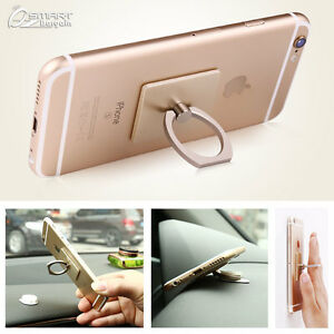 pretty nice d2eb9 6e29f Details about Finger Ring Smartphone Stand Holder Car Mount Hook For iPhone  7 iPhone 7 Plus