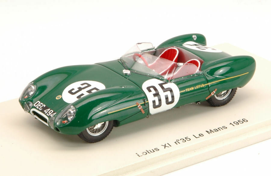 Lotus Xi  35 Collision With A Dog Lm 1956 C. Allison / K. Hall 1:43 Model