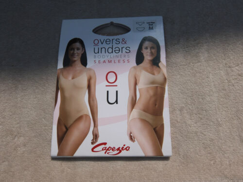 3679 Nude Capezio overs and unders seamless low rise brief All sizes