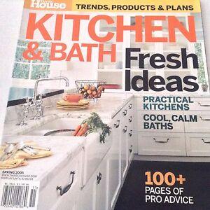 Kitchen & Bath Magazine Practical Kitchens Spring 2005 071117nonrh