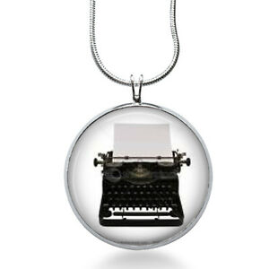 Typewriter-necklace-Typewriter-pendant-gifts-for-writers-author-jewelry-retro