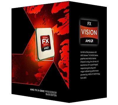 AMD FX 9370 4.4GHz 8 Core AM3+ Black Edition Processor *Open Box*