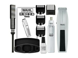 WAHL-5537-420-12-Pieces-Mustache-Beard-Nose-Battery-Operated-Travel-Trimmer-Set