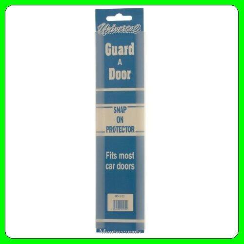 Clear Door Gaurds GD4112 Car Door Edge Knock Protector Strip * Pack of 3
