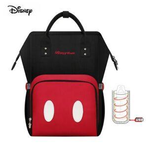 Disney Mickey Mouse Mommy Bag Rucksack Baby Windeln Kinderwagen Wickeltasche NEU