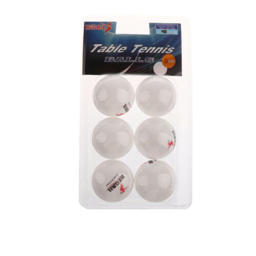 Table Tennis Paddle Bat Hard Case Cover Plus 6 Pieces 40mm Ping Pong Balls