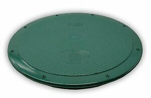 """Polylok 3008-West 24"""" Flat Septic Cover for Polylok Risers and Corrugated Pipe"""