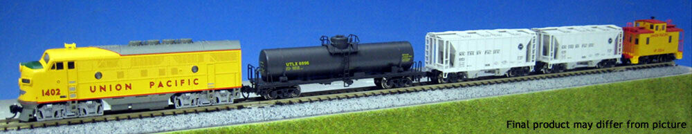 Kato N Scale 1066272 EMD F7 Union Pacific Freight Train Set