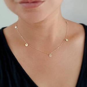 Minimalist Jewellery Basic Gold Sparkle Chain