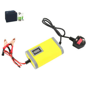 Automatic Intelligent 12V Motorcycle Motorbike Battery Charger Smart Trickle UK