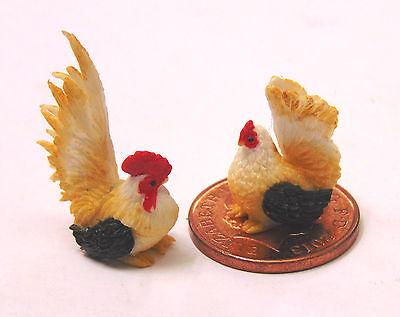 1:12 Scale Hand Made /& Painted Chicken Tumdee Dolls House Miniature Garden Dpc