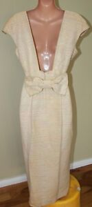 Womens-Stunning-Vintage-Pure-Silk-Designer-Dress-Keri-Craig-Size-10