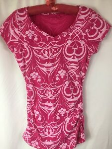 Image Is Loading Fresh Produce Women 039 S Floral Pink Batik