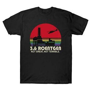 3-6-Roentgen-pas-grand-pas-terrible-Vintage-Men-039-s-T-Shirt-Retro-Chemise-en-coton