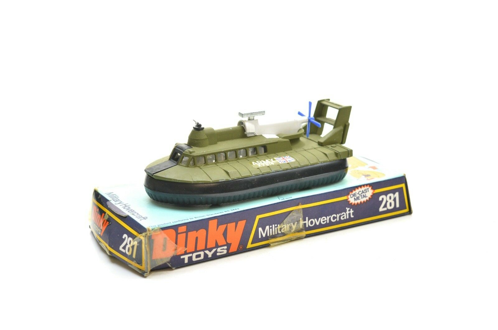 DINKY 281 MILITATED HOVERCRAFT 'ARMY'