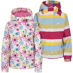 TRESPASS-GIRLS-WATERPROOF-POPSTAR-HOODED-RAIN-JACKET-COAT-KIDS-CHILDS-3-12yrs