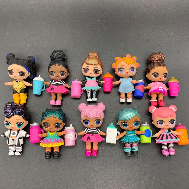 Lot 10X LOL Surprise Random Dolls with Random Dress shoes Bottle Gift 405 UK