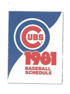 1981-Chicago-Cubs-Tri-Fold-Pocket-Schedule-Old-Style-Beer