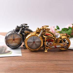 Creative-Motorcycle-Motorbike-Pattern-Alarm-Clock-Desk-Cloc-AU
