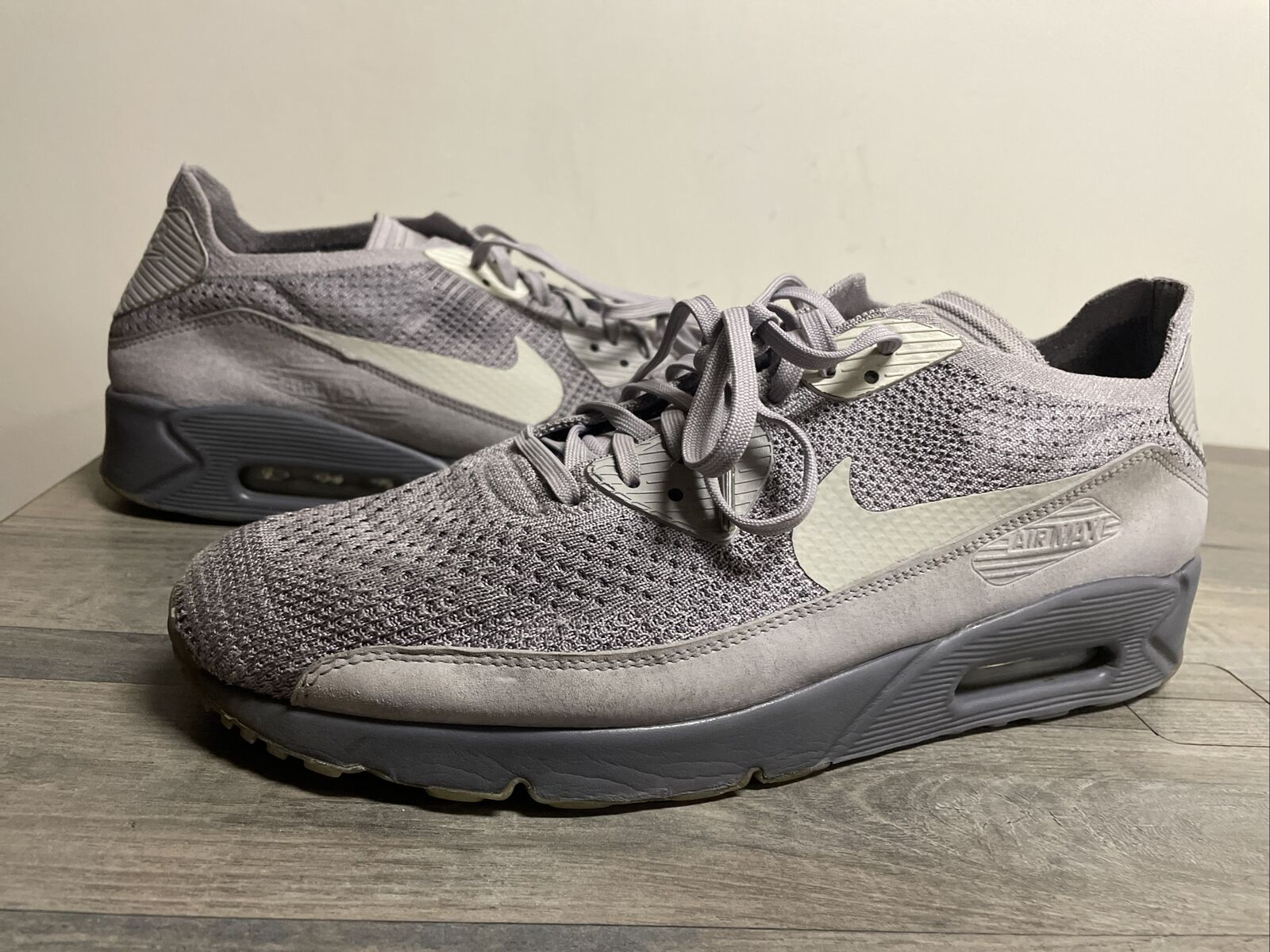 Size 12 - Nike Air Max 90 Ultra 2.0 Flyknit Atmosphere Grey for ...