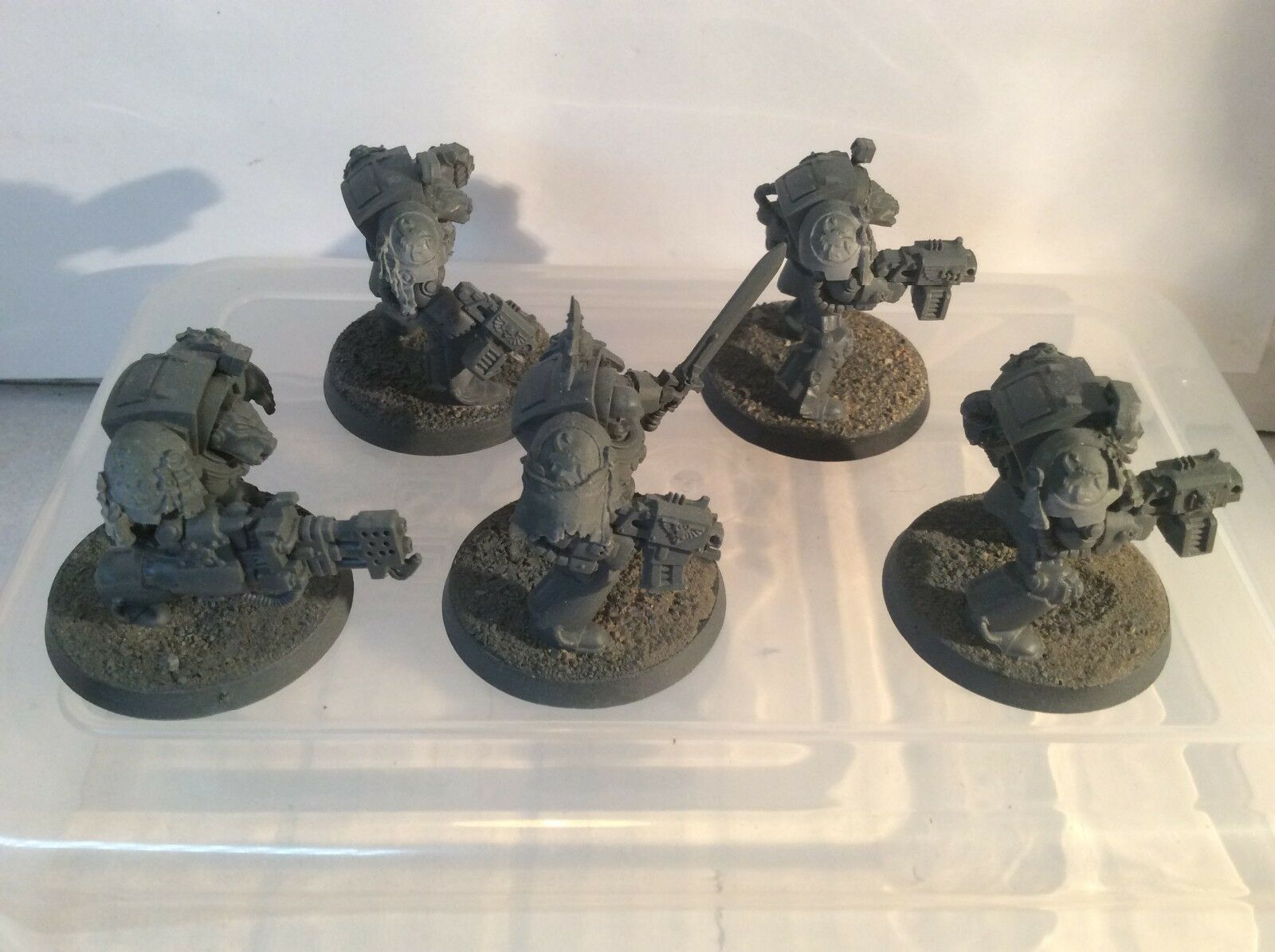 Warhammer 40k - Space marines Forgeworld Red Scorpion Terminator Squad
