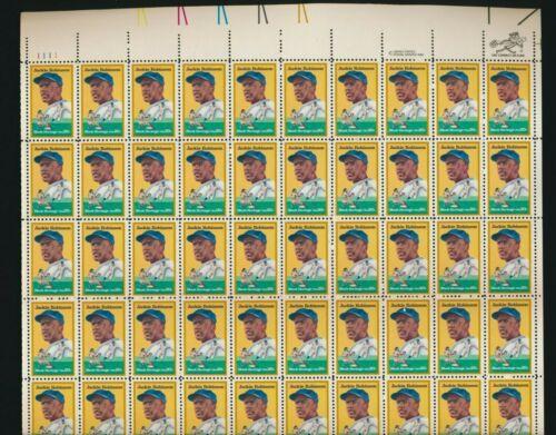 50 1982 US Stamp *JACKIE ROBINSON* Black Heritage *FV $10* 20-cent Sheet